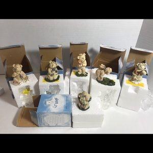 Lil' Wings Set Of 6 Boyd's Bears & Friends NIB